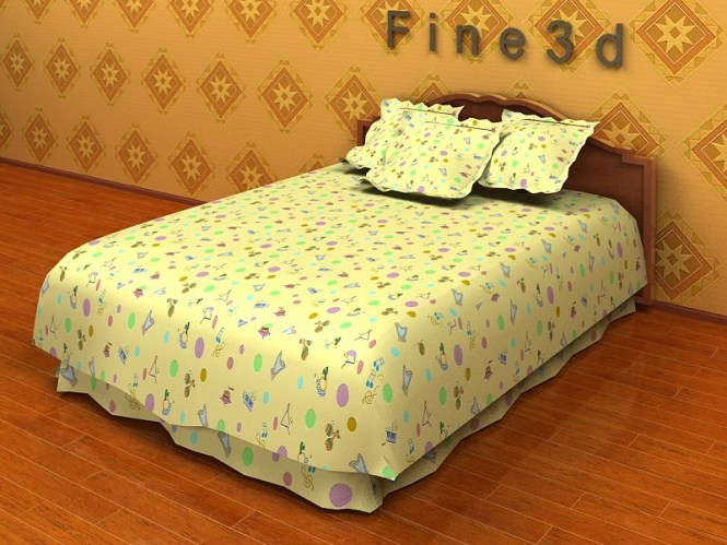 Old Fashioned Bed Collection Model Max Obj S 3