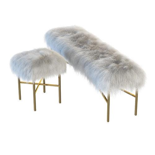 Mongolian Fur Chair
