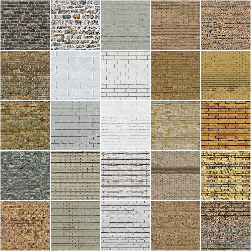 brick wall pbr texture