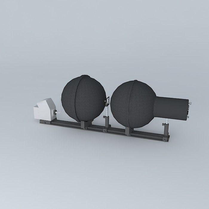 Transmission Bench free 3D Model MAX OBJ 3DS FBX STL SKP