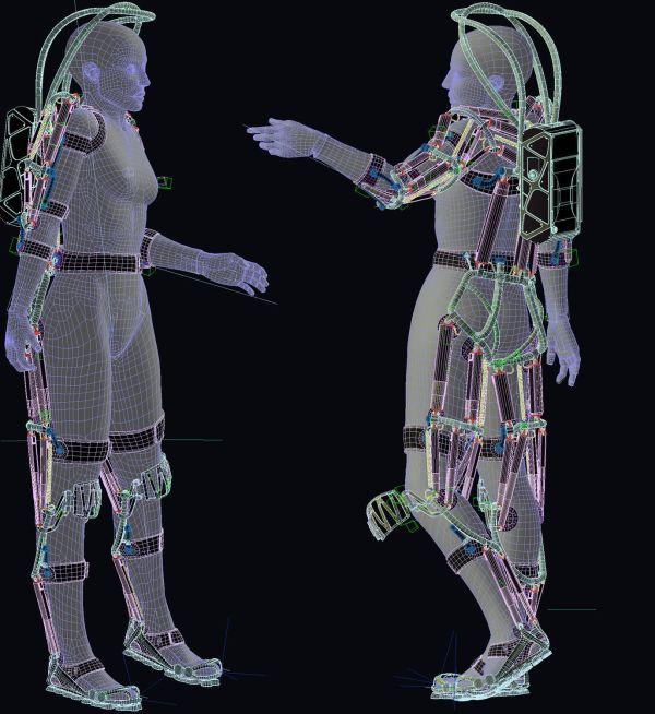Exoskeleton 3d Models 3dmdb - Year of Clean Water