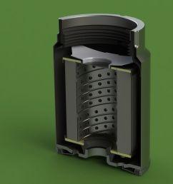mann pl270 disel fuel filter 3d model sldprt sldasm slddrw 1  [ 1920 x 1080 Pixel ]