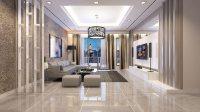 Living Room Condominium 3D model   CGTrader
