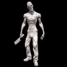 Zombie 3d Model - Year of Clean Water
