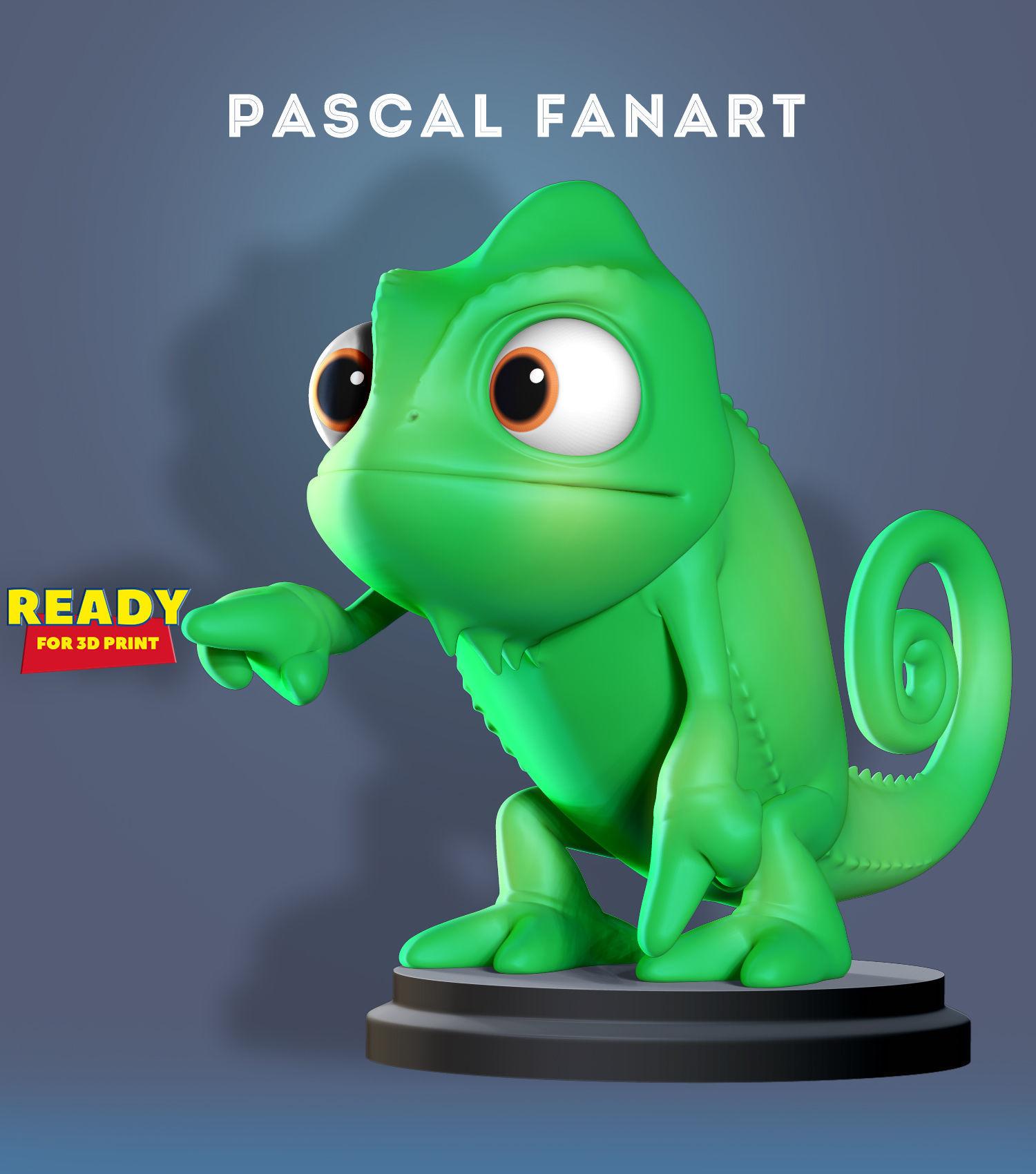 Pascal Fanart 3d Print Model