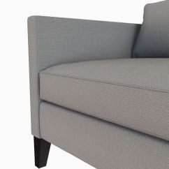 West Elm Dunham Sofa Reviews Sectionals Made In Usa Down Filled Box Cushion 3d Model Max Obj Mtl Fbx