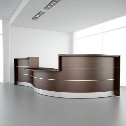 Reception Desk 01 3D Model CGTrader