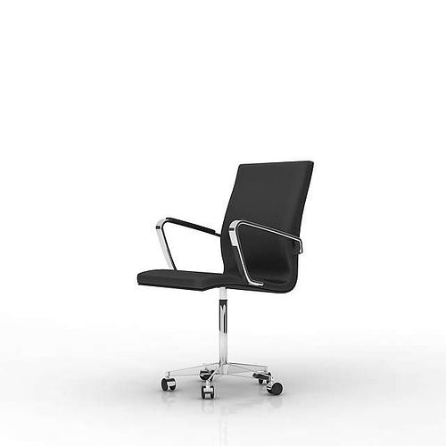 office chair 3d model used captain chairs for boats black leather cgtrader