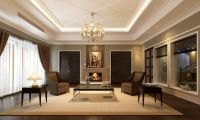 3D interior Classic Living Room   CGTrader