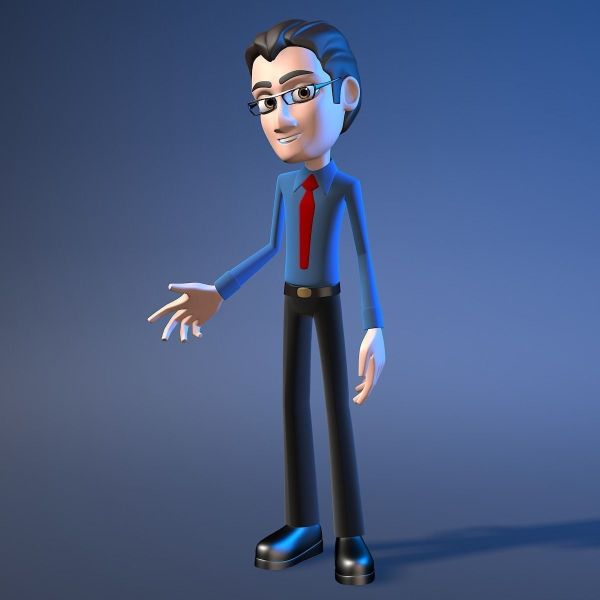 3d Model For Max Man - Year of Clean Water