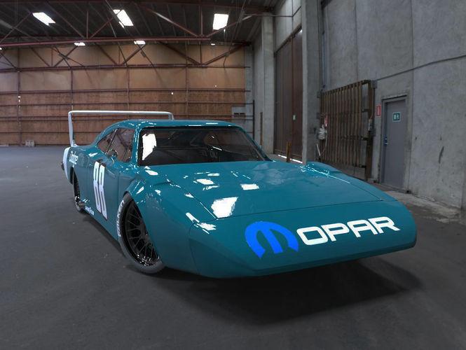 1969 Dodge Daytona 3D model  CGTrader
