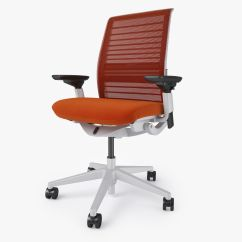 Steelcase Chair Parts Retro Metal Lawn Chairs Think Office 3d Model Max Obj Fbx Mtl