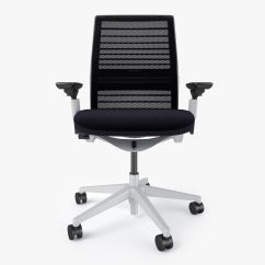 Steelcase Chair Parts Reclining And A Half Think Office 3d Model Max Obj Fbx Mtl