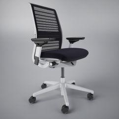 Steelcase Chair Parts Golden Power Think Office 3d Model Max Obj Fbx Mtl