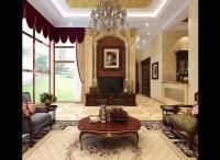 Classic Living Room With Big Windows 3D Model MAX
