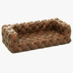 Tufted Leather Sofa Cheap Wood Sofas With Cushions Restoration Hardware Soho 3d Model Max Obj Mtl 3ds Fbx 1
