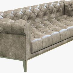 Leather Sectional Sofa Restoration Hardware Pier One Bed Italia Chesterfield 3d