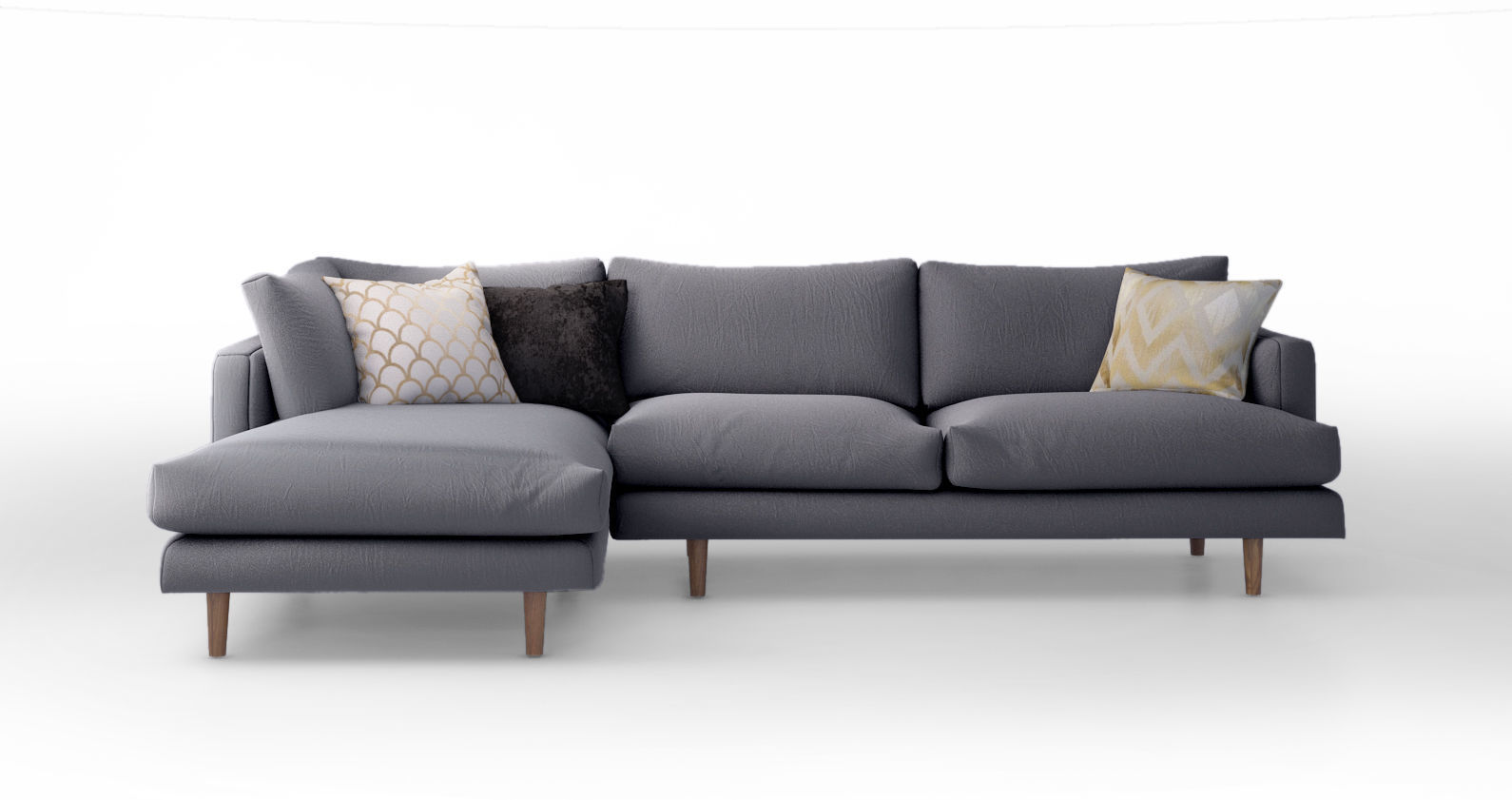 corner sofa with chaise furniture singapore bed olympian sofas pesaro black