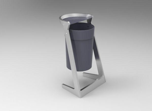 Trash - Urban Furniture Collection 3d Model Cgtrader