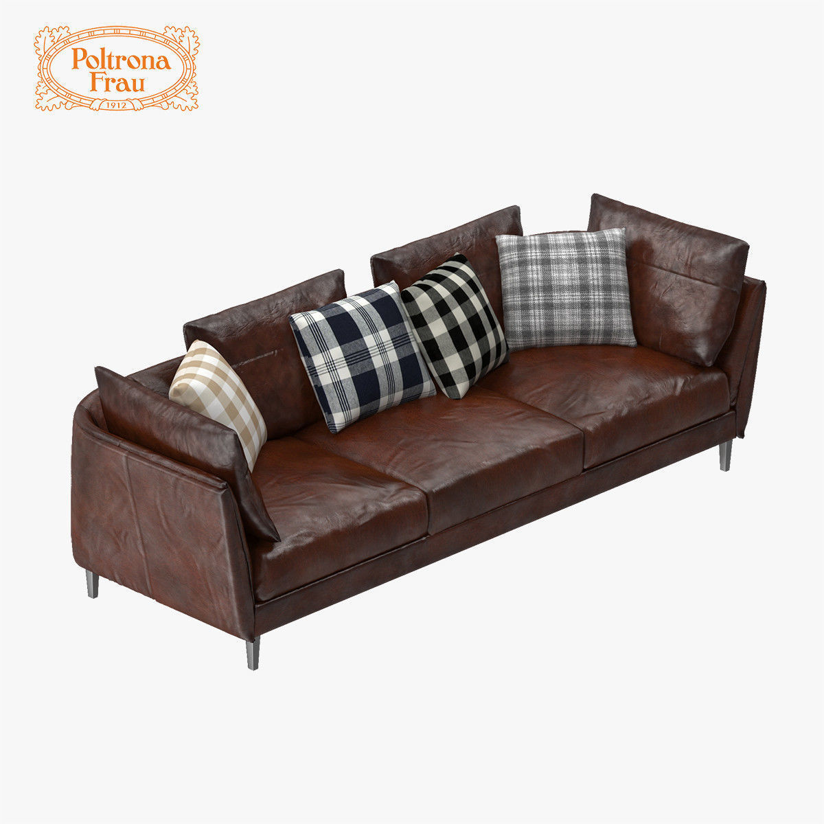 poltrona frau sofa review modern sectional sofas for small spaces bretagne 3d model max obj fbx mtl cgtrader