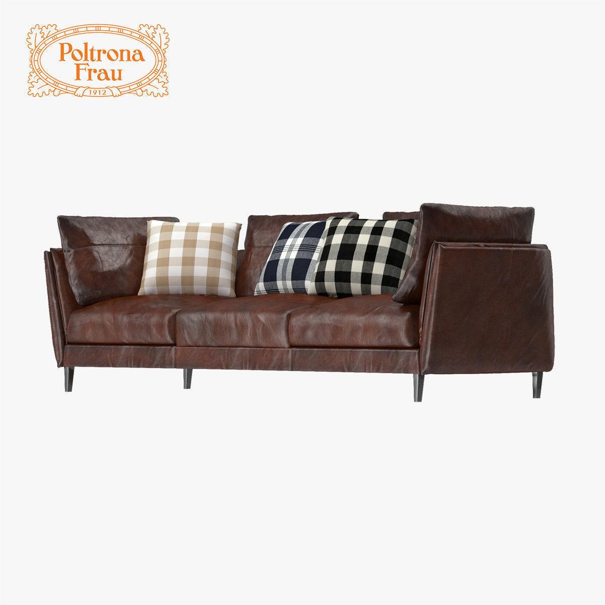 poltrona frau sofa review blue sofas living room bretagne 3d model max obj fbx mtl cgtrader
