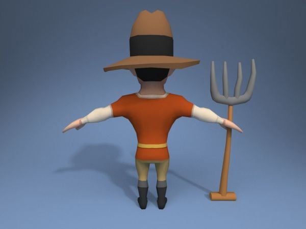 3d Model Knight Vr Ar Poly Rigged Max Obj Fbx - Year of