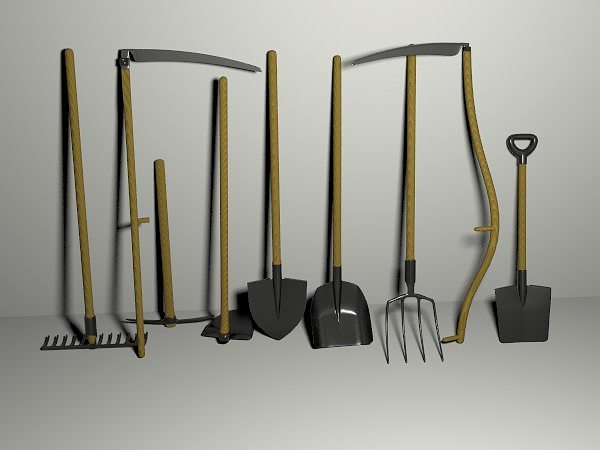25+ Free 3d Models Tools Landscaping Pictures and Ideas on