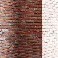 Old red brick wall 3D Model MAX FBX | CGTrader.com