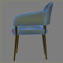 Upright Recliner Chairs Chair Arm Table Knightsbridge Lucia Open 3d Model Max Obj