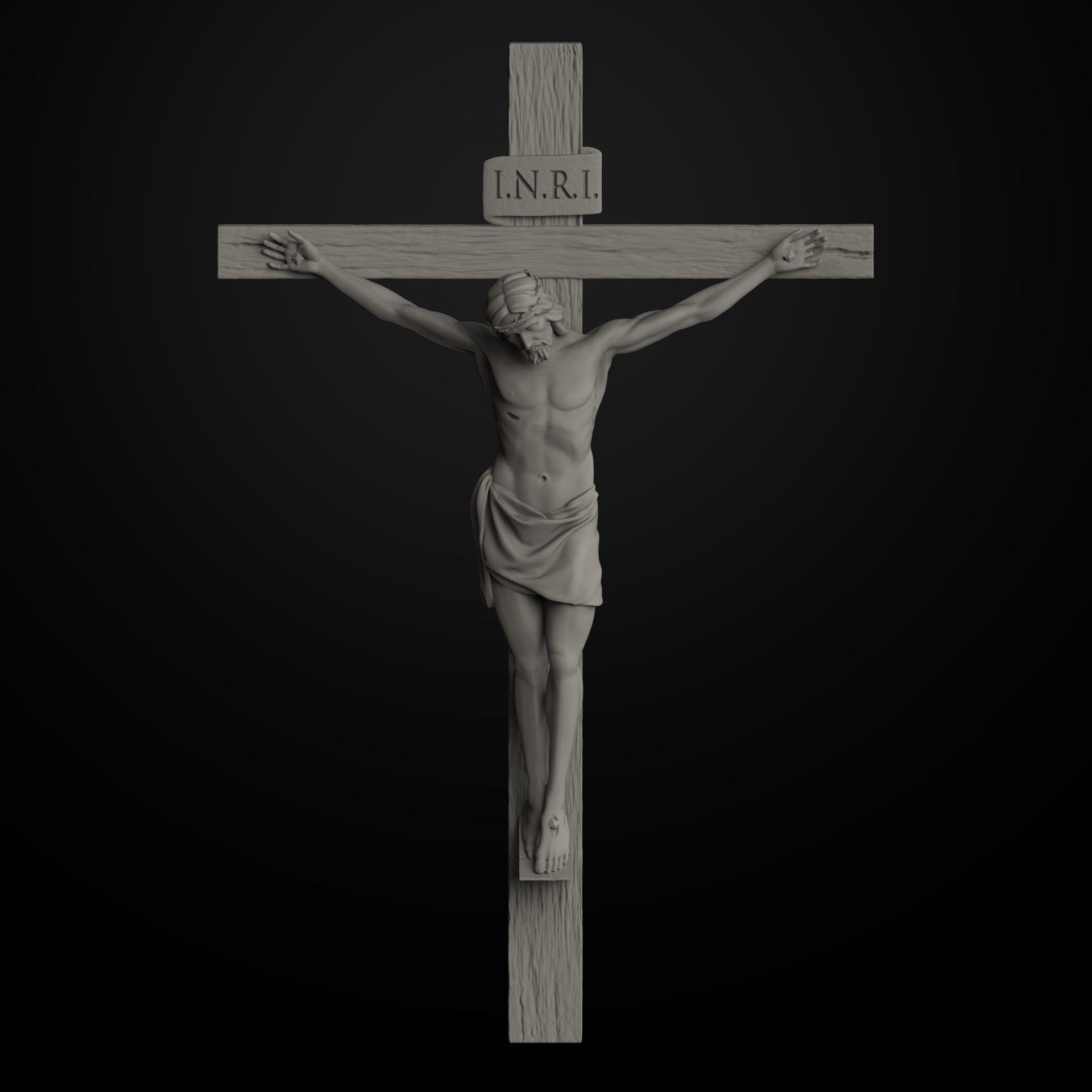 Art Jesus On The Cross 3d Print Model Cgtrader