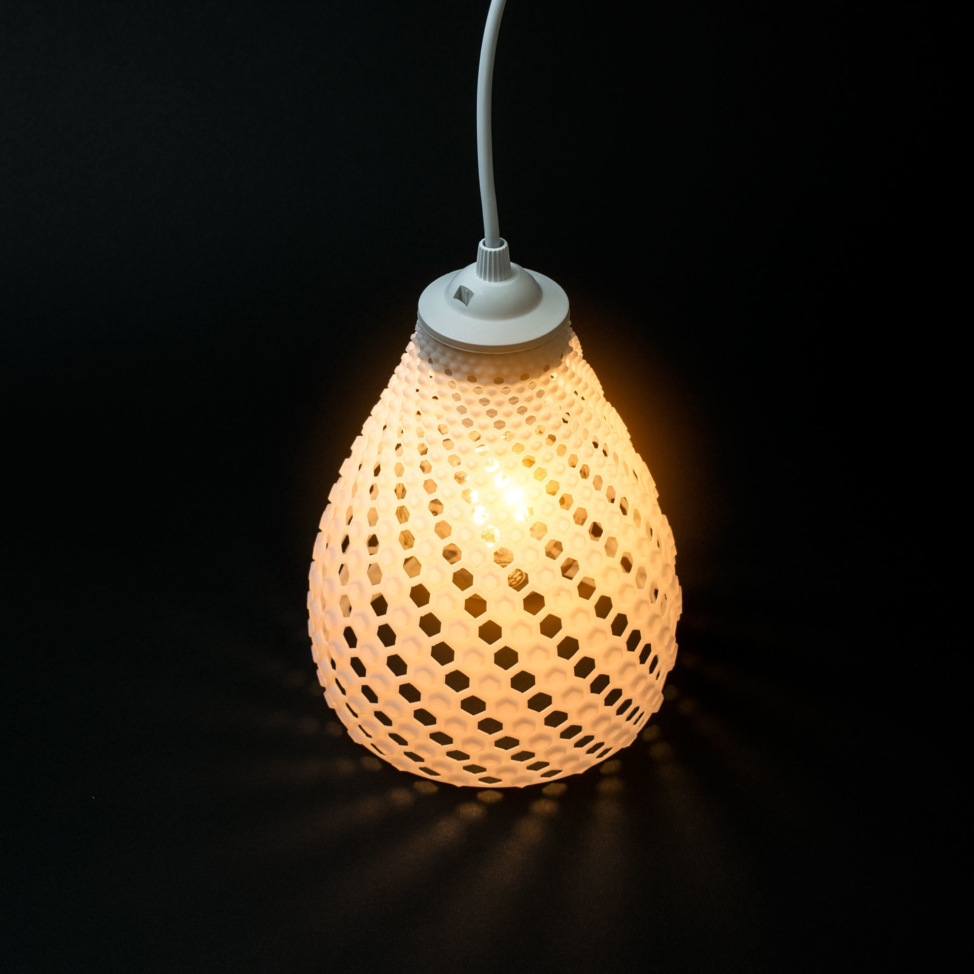 FIBONACCI LAMP SHADE 3D Model 3D printable STL  CGTradercom