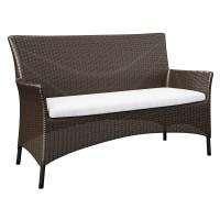 Wicker Sofa Rattan Sofa Tropical Breeze - TheSofa