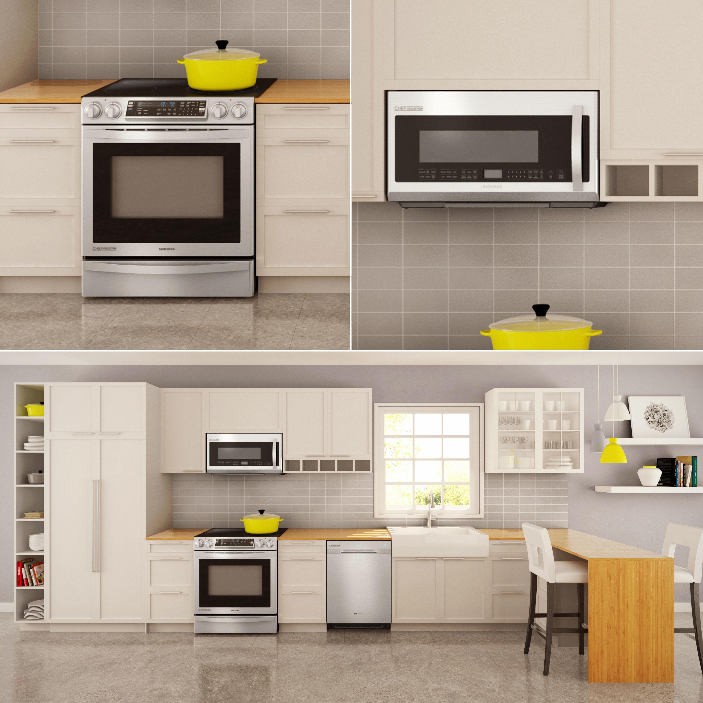 Kitchen Set Oven