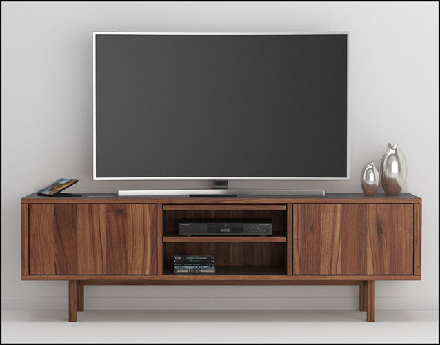 Stockholm tv stand 3D  CGTrader