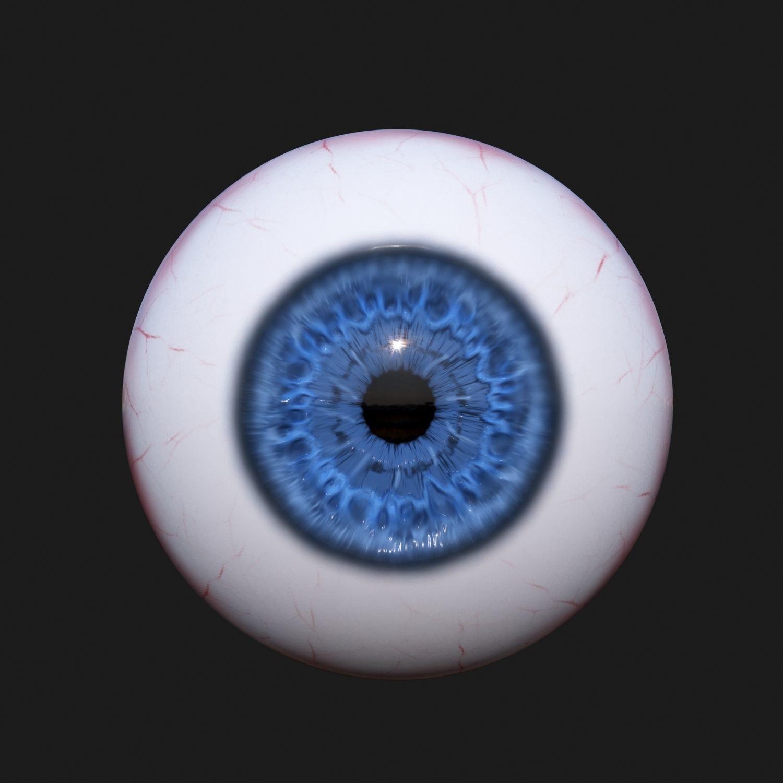 3D Realistic Eye   CGTrader