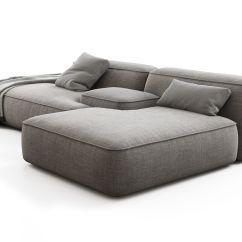Cloud 9 Sofa Metal Table Legs Cinema 4d Model Free Desain Rumah