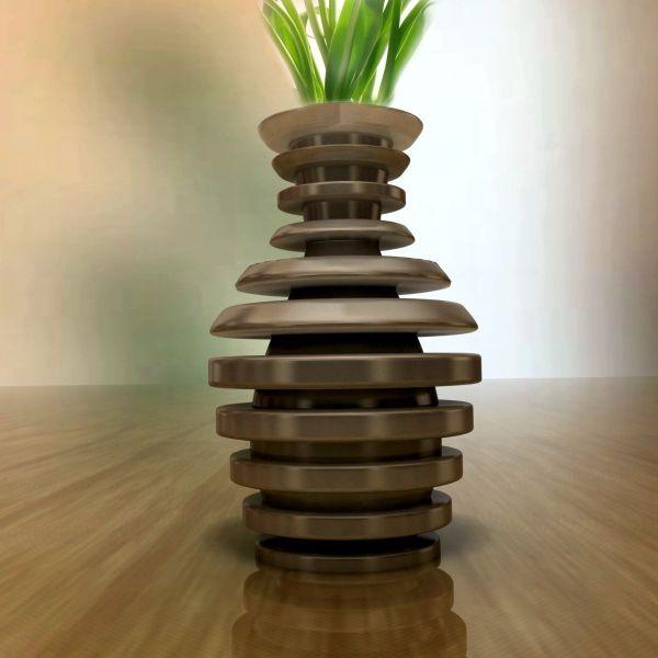Amazing Vase 3d Model Printable Stl