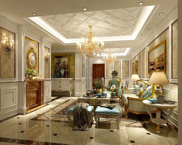 modern kitchen cart best backsplash interior european-style living room design 3d | cgtrader