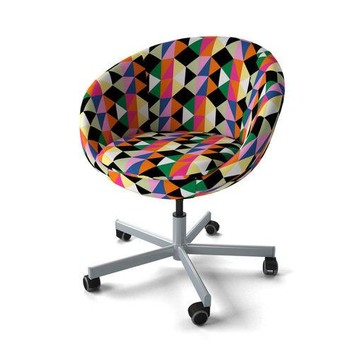 swivel chair black bamboo folding chairs ikea skruvsta 3d model | cgtrader