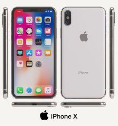 apple iphone x 3d model max obj mtl fbx unitypackage prefab 1  [ 1531 x 1200 Pixel ]