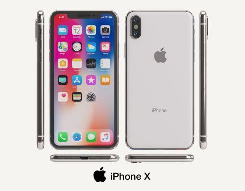 small resolution of apple iphone x 3d model max obj mtl fbx unitypackage prefab 1
