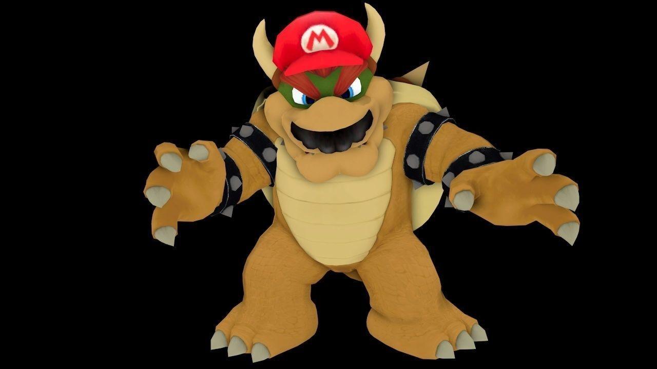 3d Model Mario In Bowser Super Mario Odyssey More Skins