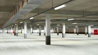 Underground Parking Garage 02 3D | CGTrader