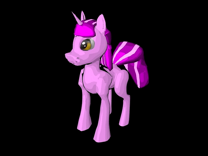 My Little Pony 3D CGTrader