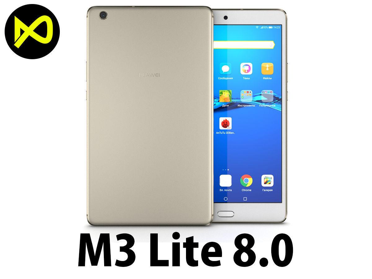 Huawei MediaPad M3 Lite 8 Gold 3D   CGTrader