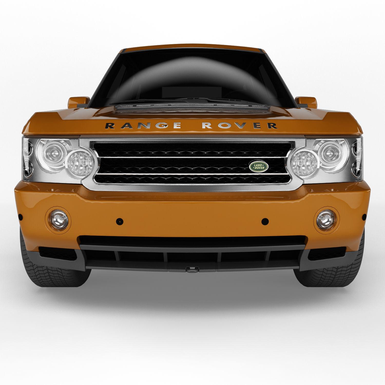 Land Rover Range Rover 6 Colors 3D model