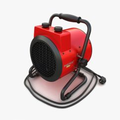 Electric Fan Heaters Communication Diagram Powerpoint Heater 01 3d Cgtrader Model