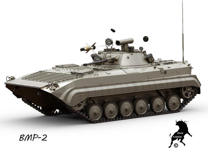 3D BMP2  CGTrader