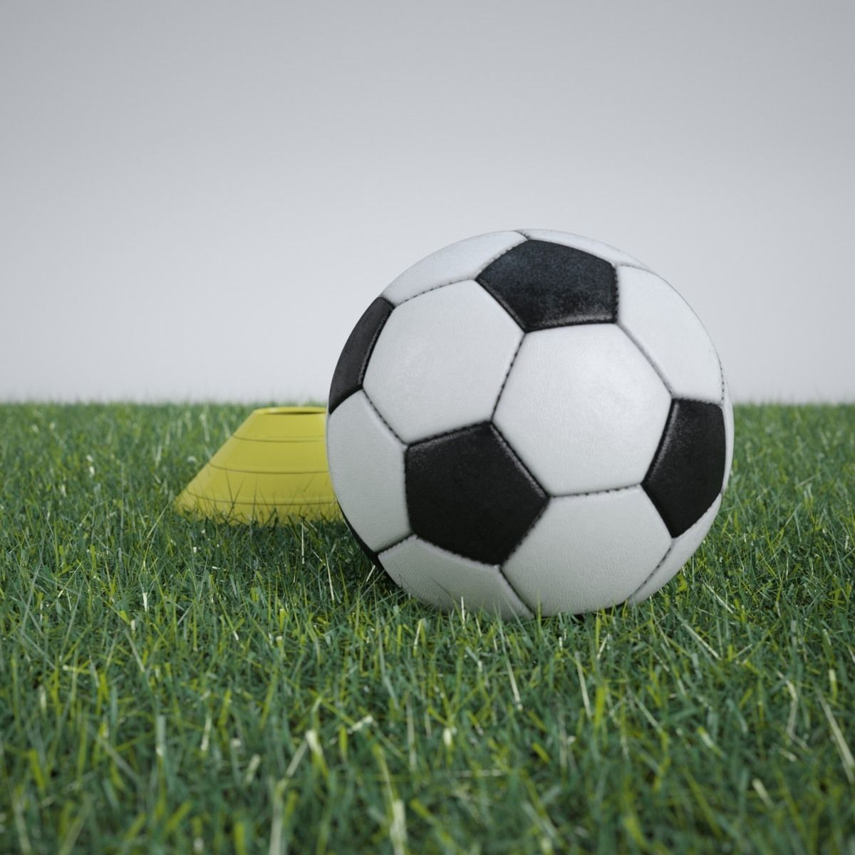 Portable Soccer Goal And Soccer Ball With 3d Model 3d