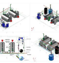 steam boiler room 4 t steam per hour 3d model 3d model [ 9934 x 7017 Pixel ]